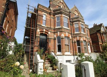 Thumbnail 3 bed flat to rent in Christ Church Road, Folkestone