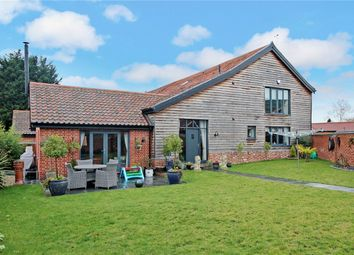 Thumbnail 3 bed barn conversion for sale in The Street, Poringland, Norwich, Norfolk