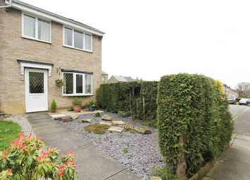 Thumbnail 3 bedroom end terrace house for sale in Howden Close, Cowlersley, Huddersfield, West Yorkshire