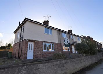 Thumbnail 3 bed end terrace house for sale in Church Street, Bilsthorpe, Newark