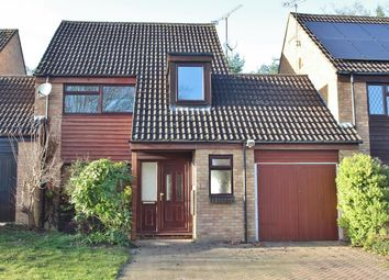 Thumbnail 3 bed link-detached house to rent in Marshall Close, Purley On Thames, Reading