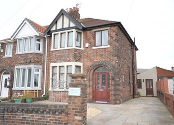 Thumbnail 3 bed semi-detached house to rent in Park Road, Blackpool