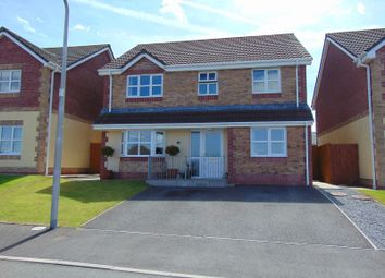 Thumbnail 4 bed detached house for sale in Maes Y Bryn, Bryn, Llanelli, Carmarthenshire.