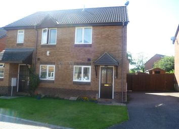 Thumbnail 2 bed semi-detached house to rent in Aspen Way, Tiverton