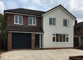 Thumbnail 5 bed detached house for sale in Shefford Road, Newcastle-Under-Lyme
