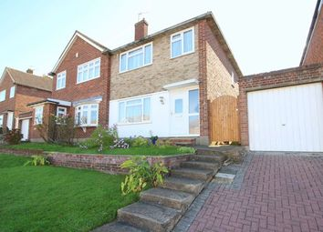 Thumbnail 3 bed semi-detached house for sale in Felton Lea, Sidcup