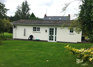 Thumbnail 1 bedroom bungalow to rent in Tynllan Farm, Castle Caereinion, Welshpool