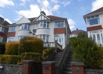 Thumbnail 3 bed semi-detached house for sale in Lon Cwm Gwyn, Sketty, Swansea