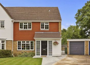 Thumbnail 3 bed semi-detached house for sale in Overbrook, West Horsley, Leatherhead