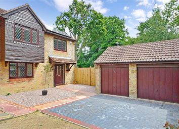 Thumbnail 4 bed detached house for sale in Camelot Close, Southwater, West Sussex