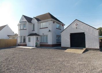 Thumbnail 3 bed detached house for sale in Station Road West, Wenvoe, The Vale Of Glamorgan.