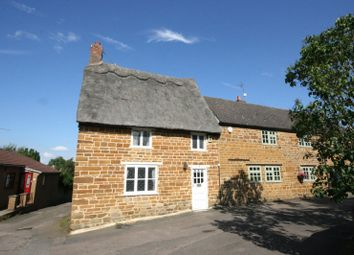 Thumbnail 3 bed semi-detached house for sale in Manor Road, Spratton, Northampton