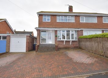 Thumbnail 3 bed semi-detached house for sale in Cumberland Road, Consett