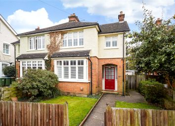 Thumbnail 3 bedroom semi-detached house for sale in Church Walk, Thames Ditton, Surrey