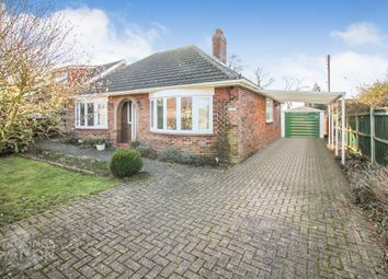 Thumbnail 3 bed detached bungalow to rent in South Wood Drive, Caistor St. Edmund, Norwich