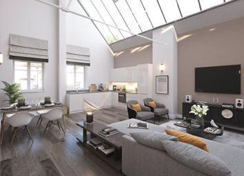 Thumbnail 2 bed flat for sale in Beaumont Gardens, Sutton Road, St Albans, Hertfordshire