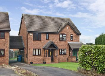 Thumbnail 2 bed semi-detached house to rent in Peak Close, Armitage, Rugeley