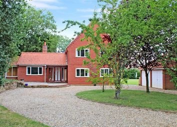 Thumbnail 4 bed detached house for sale in Northcroft, The Street, Brooke, Norwich