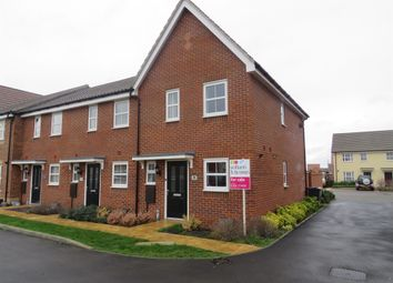 Thumbnail 2 bedroom end terrace house for sale in Blackberry Way, Swaffham