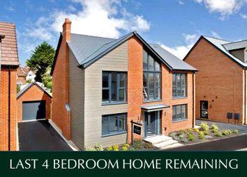 Thumbnail 4 bedroom detached house for sale in Exeter Road, Topsham, Devon