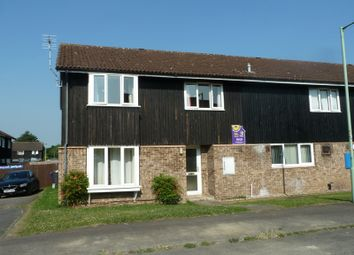 Thumbnail 4 bedroom end terrace house to rent in Highclere Close, Exning, Newmarket