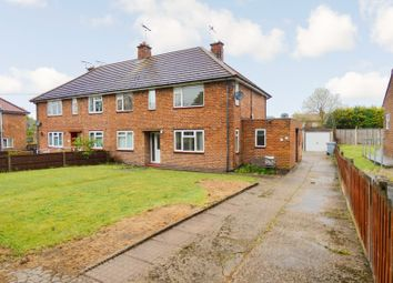 Thumbnail 2 bed flat for sale in Yew Tree Road, Ollerton, Newark