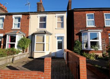Thumbnail 3 bed end terrace house for sale in Westley Road, Bury St. Edmunds