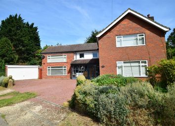Thumbnail 4 bed detached house for sale in Woodland Way, Stevenage, Hertfordshire