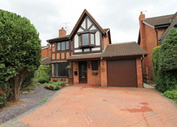 Thumbnail 4 bed detached house for sale in Nigel Gresley Close, Crewe
