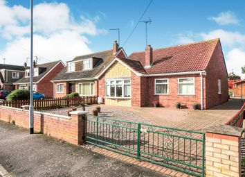 Thumbnail 3 bedroom detached bungalow for sale in Lowther Gardens, Gunthorpe, Peterborough