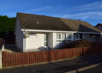 Thumbnail 1 bedroom semi-detached bungalow for sale in Glebe Road, Mosstodloch, Fochabers