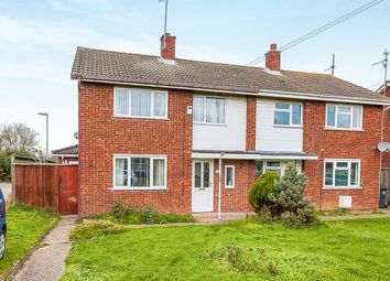 Thumbnail 4 bed semi-detached house for sale in Andrewes Close, Farcet, Peterborough