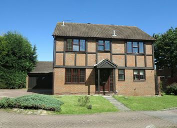 Thumbnail 4 bed detached house to rent in Cutbush Close, Lower Earley