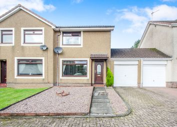 Thumbnail 2 bed semi-detached house for sale in Ochil Court, Irvine