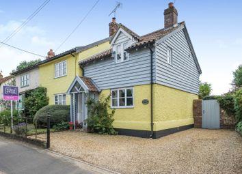 Thumbnail 3 bed cottage for sale in Church Street, Bradenham, Thetford