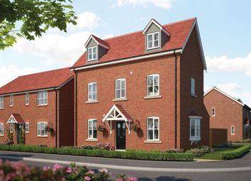 Thumbnail 4 bedroom detached house for sale in London Road, Priors Hall Park, Corby