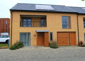 Thumbnail 3 bed end terrace house for sale in Kestrel Rise, Trumpington, Cambridge, Cambridgeshire
