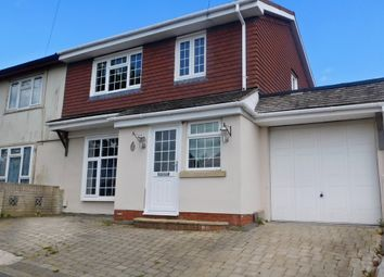 Thumbnail 3 bedroom semi-detached house to rent in Winchcombe Road, Cosham, Portsmouth