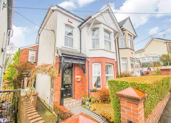 Thumbnail 4 bed semi-detached house for sale in Bude Terrace, Fleur De Lis, Blackwood