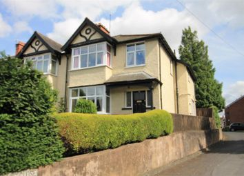 Thumbnail 3 bed semi-detached house for sale in Belmont Road, Hereford