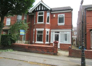 Thumbnail 3 bed semi-detached house for sale in Reynolds Road, Old Trafford, Manchester