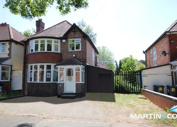 Thumbnail 3 bed detached house for sale in Edenbridge Road, Hall Green