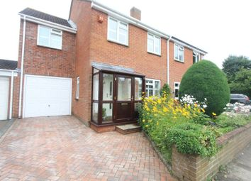 Thumbnail 4 bed semi-detached house for sale in Caversham Close, Southampton