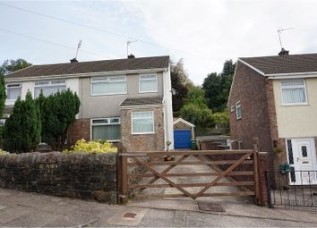 Thumbnail 3 bed semi-detached house for sale in Tyn Y Wern, Porth