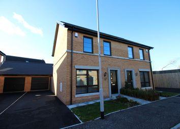 Thumbnail 3 bed semi-detached house for sale in Ballantine Lane, Lisburn