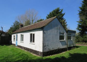 Thumbnail 2 bed detached bungalow for sale in Love Lane, Sporle, King's Lynn