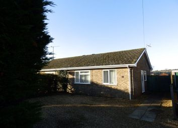 Thumbnail 2 bed bungalow to rent in Goose Green Road, Snettisham, King's Lynn
