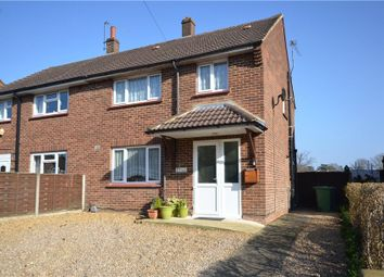Thumbnail 3 bedroom semi-detached house for sale in Wickham Road, Camberley, Surrey