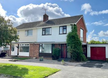 Thumbnail 3 bed semi-detached house for sale in Lawn Meadow, Ruishton, Taunton