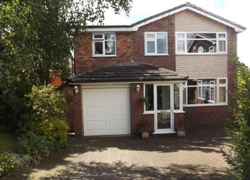 Thumbnail 4 bed detached house for sale in Warren Road, Appleton, Warrington, Cheshire